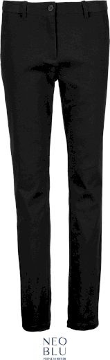 Dámské chino kalhoty s elastanem Gustave Neo Blu