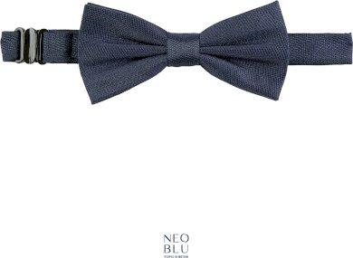 Elegantní motýlek k obleku Teddy Neo Blu tmavě modrá Navy