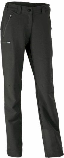 Dámské černé rychleschnoucí outdoorové kalhoty James & Nicholson