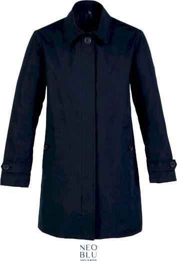 Dámský elegantní přechodový kabát Neo Blu