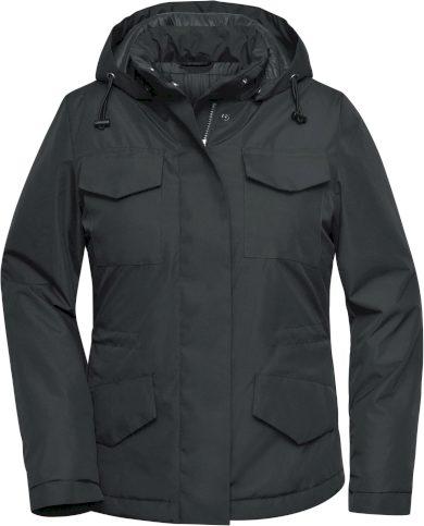 Dámská odolná business bunda s kapucí James & Nicholson