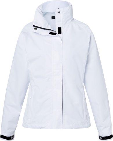 Dámská outdoorová bunda s kapucí v límci James & Nicholson