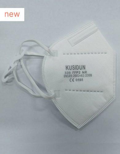 Respirátor FFP2 účinnost 95% 5 vrstev bílý | Balení po 1 ks