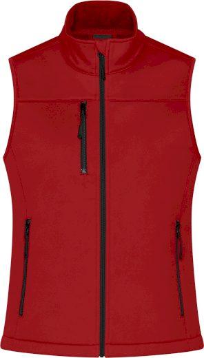Dámská 3-vrstvá softshellová vesta James & Nicholson
