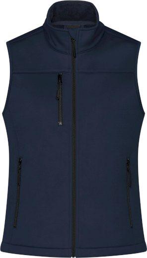 Pánská 3-vrstvá softshellová vesta James & Nicholson