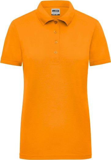Dámské signální pracovní polo tričko James & Nicholson