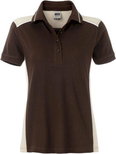 Dámské pracovní polo tričko s kontrastem 8 barev