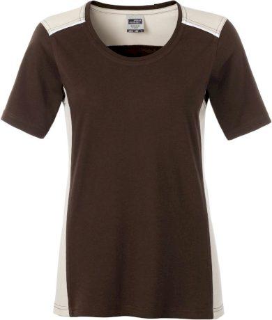 Dámské pracovní tričko s kontrastem