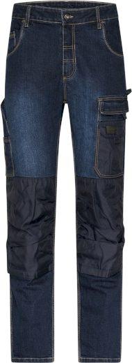 Pánské pracovní džíny s kapsami James & Nicholson
