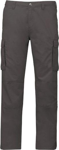 Pánské outdoorové kalhoty Kariban s cargo kapsami