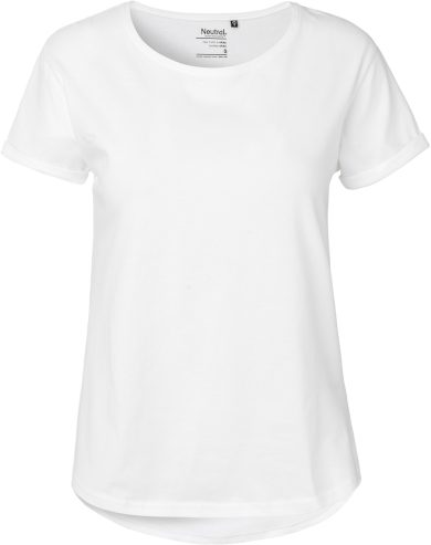 Dámské tričko z bio bavlny s krátkým rukávem  Neutral