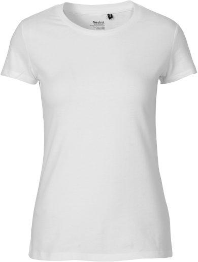Dámské tričko z bio bavlny krátký rukáv Neutral