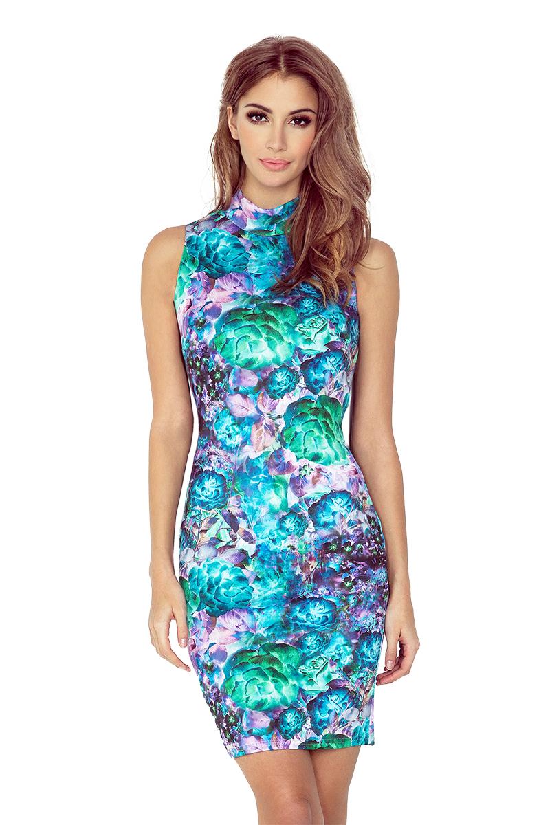 Květované šaty bez rukávů model 4977559