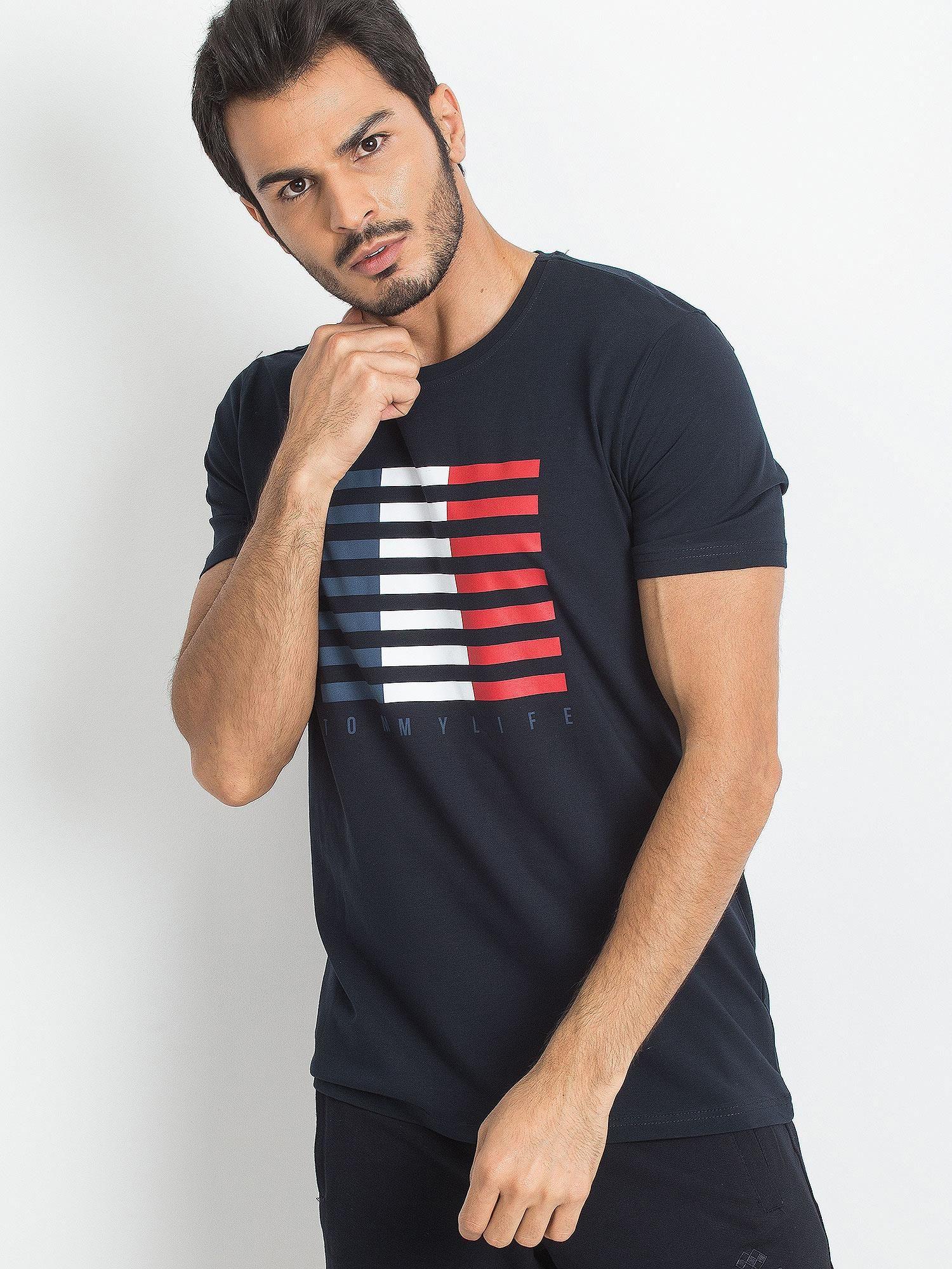 Pánské námořnické tričko TOMMY LIFE