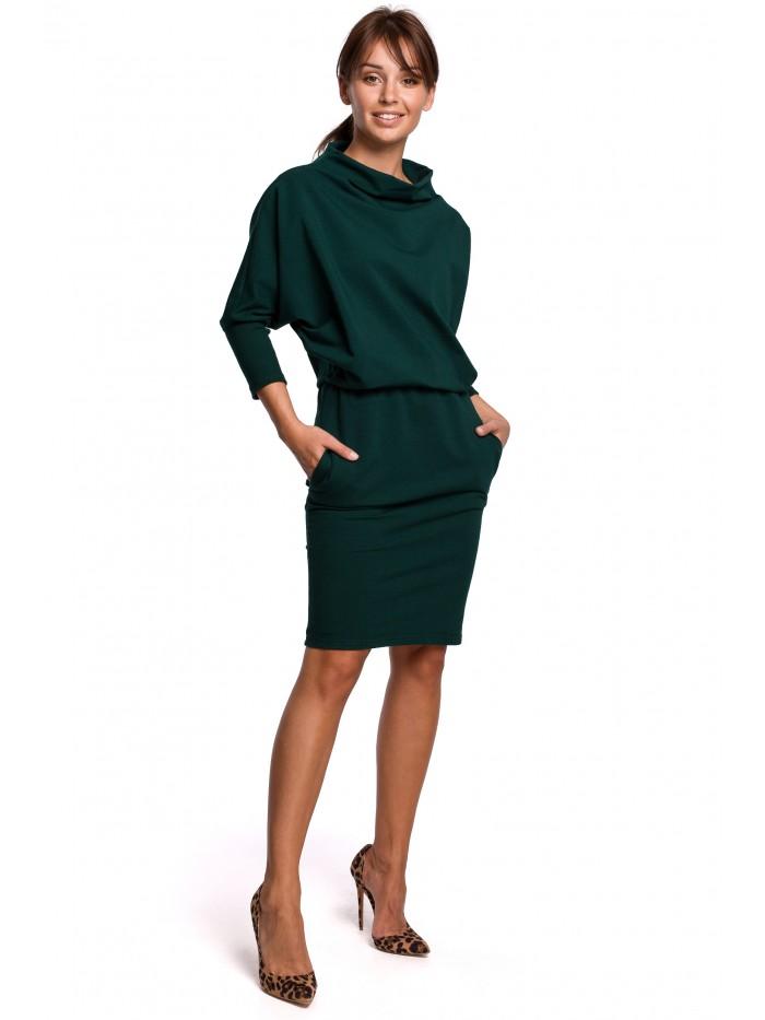 Dámské úpletové šaty B175