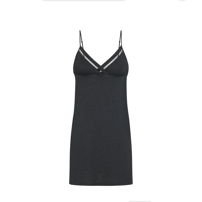 Noční košilka 19S940 Antracitově šedá(839) - Simone Perele