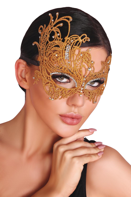 Maska na oči Mask golden - LivCo CORSETTI FASHION