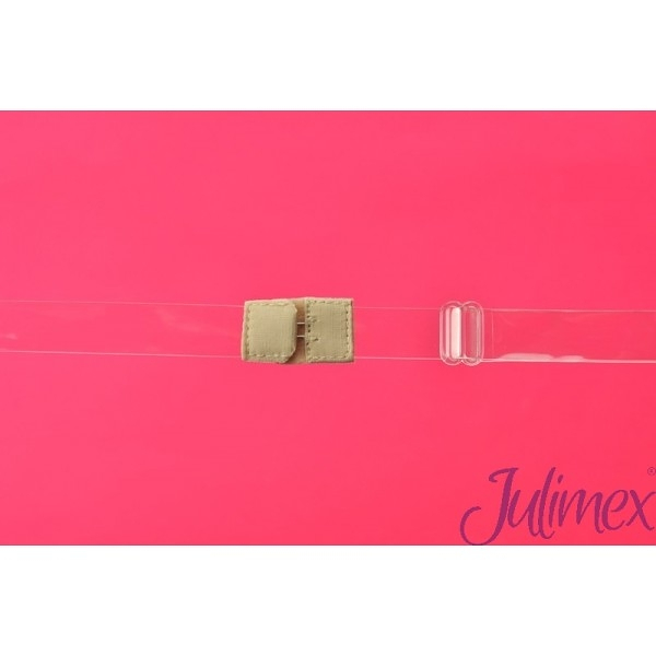 Jednořadový transparentní pásek snižující zapínání Julimex BA 05