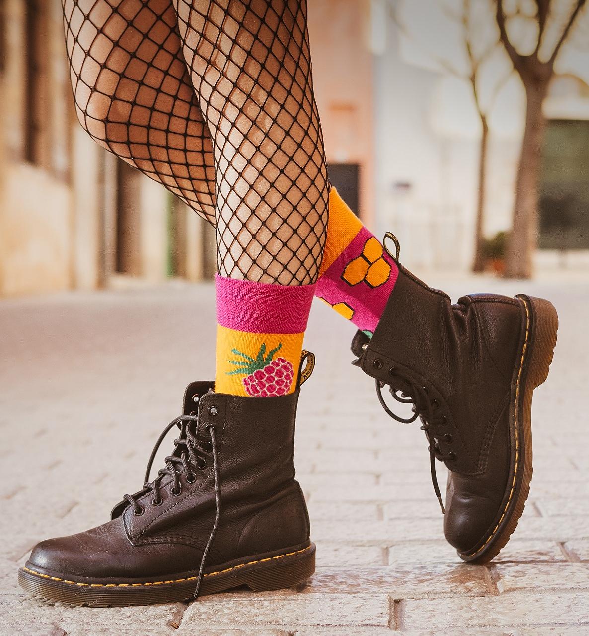 Ponožky Spox Sox - Med a malina