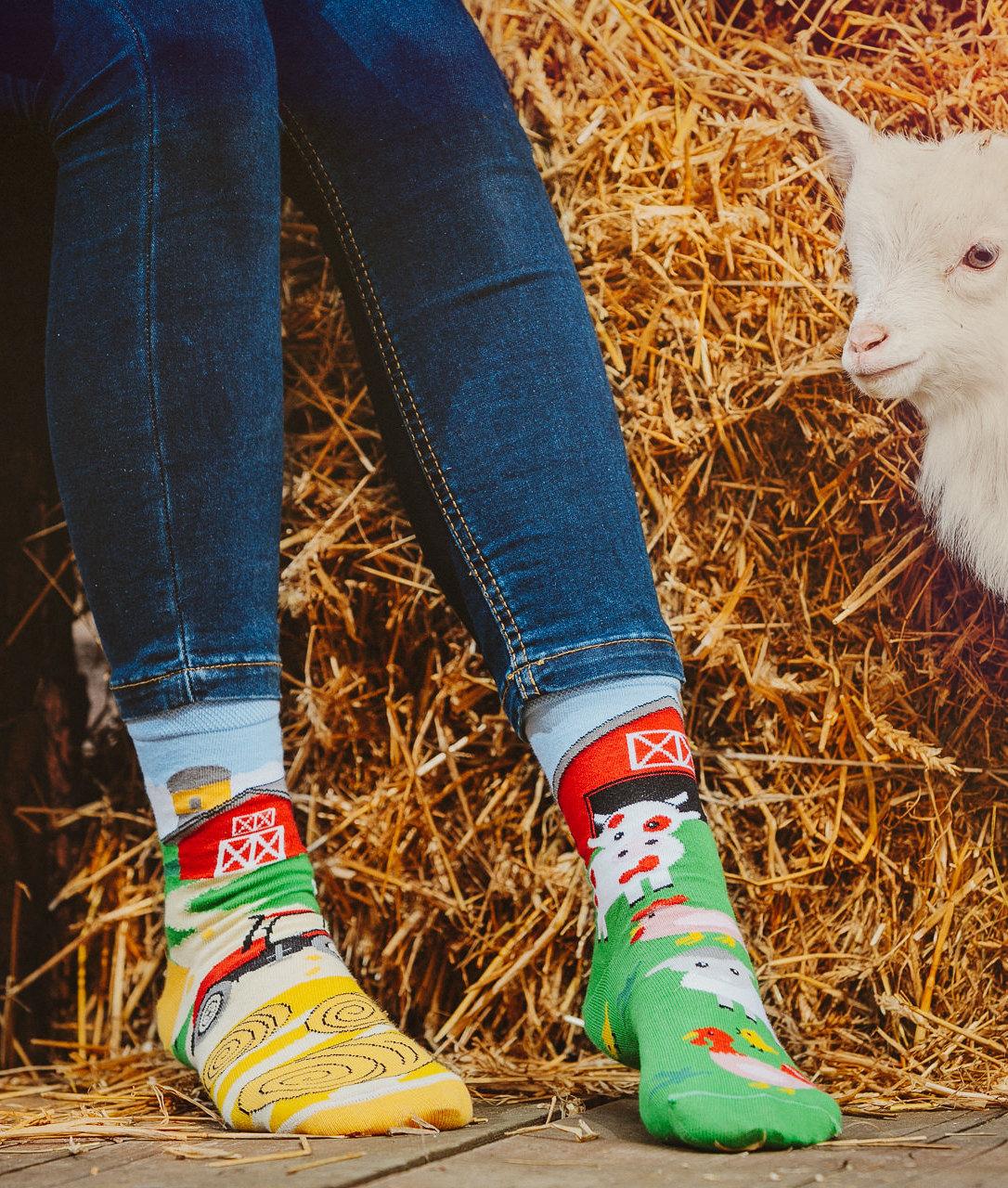Ponožky Spox Sox - Farma