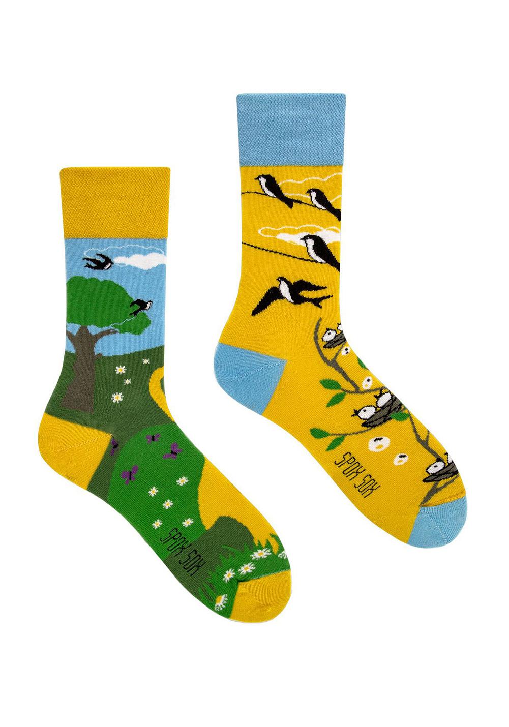 Ponožky Spox Sox Jedna vlaštovka, jaro