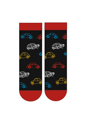 Pánské vzorované ponožky Krebo