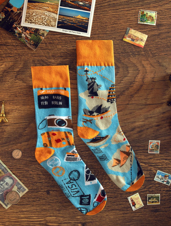Pánské ponožky Spox Sox Cestovatelské