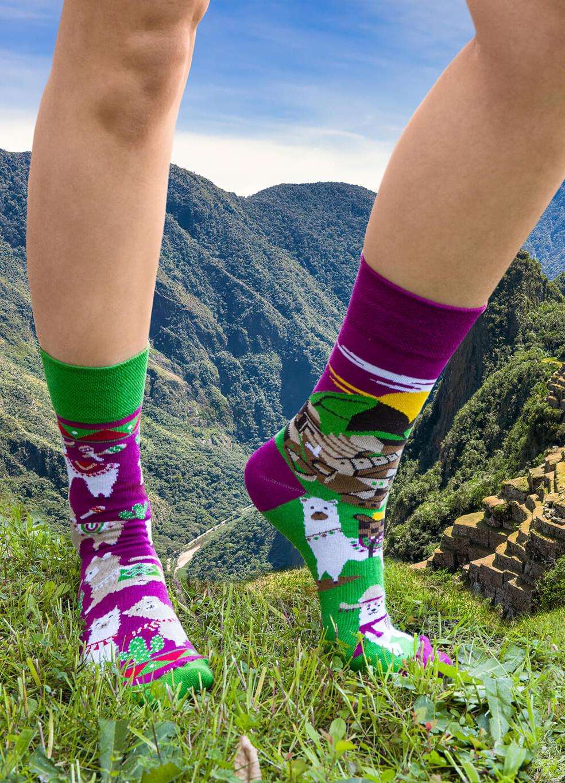 Ponožky Spox Sox Lamy Z Machu Picchu