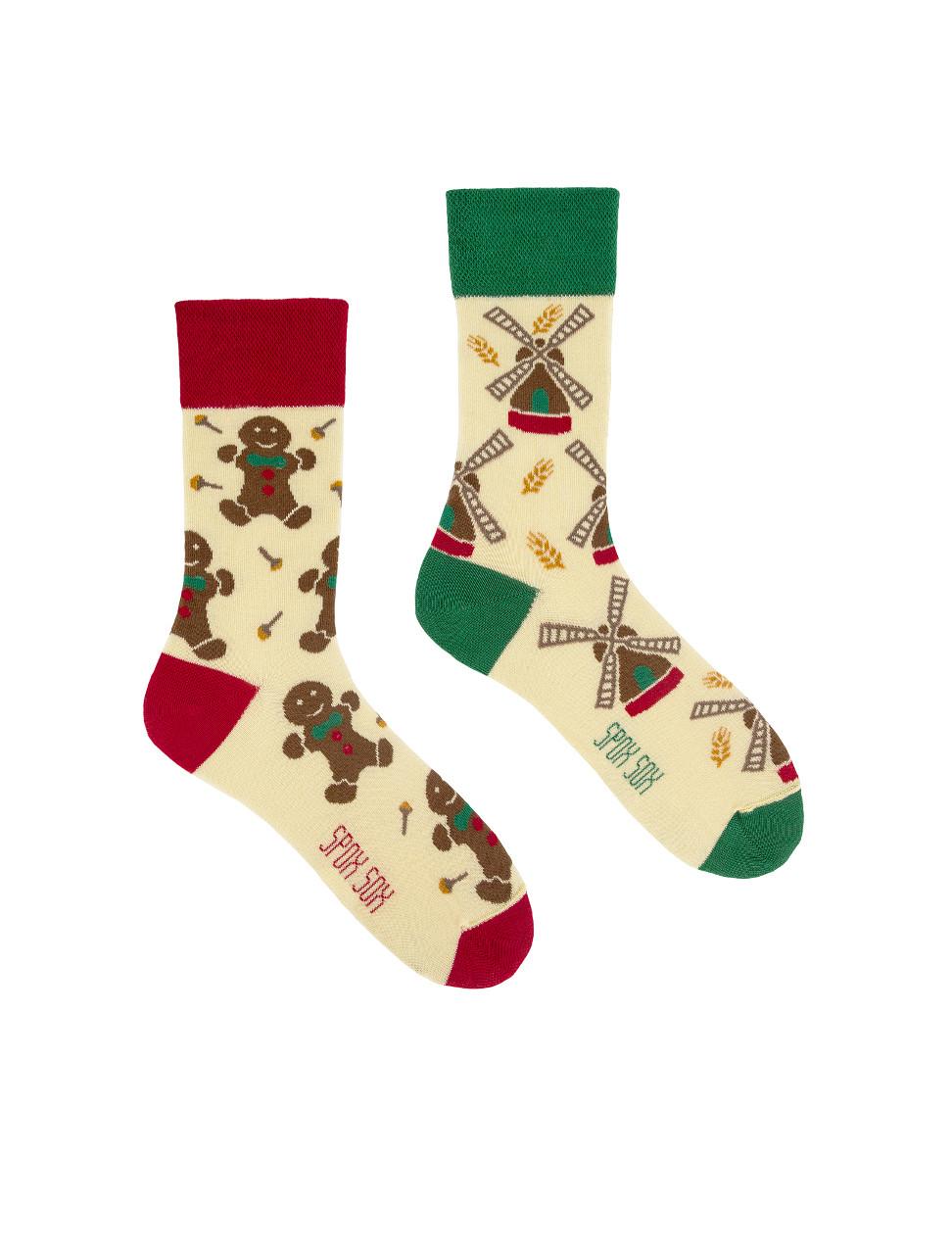 Ponožky Spox Sox Perník, větrný mlýn