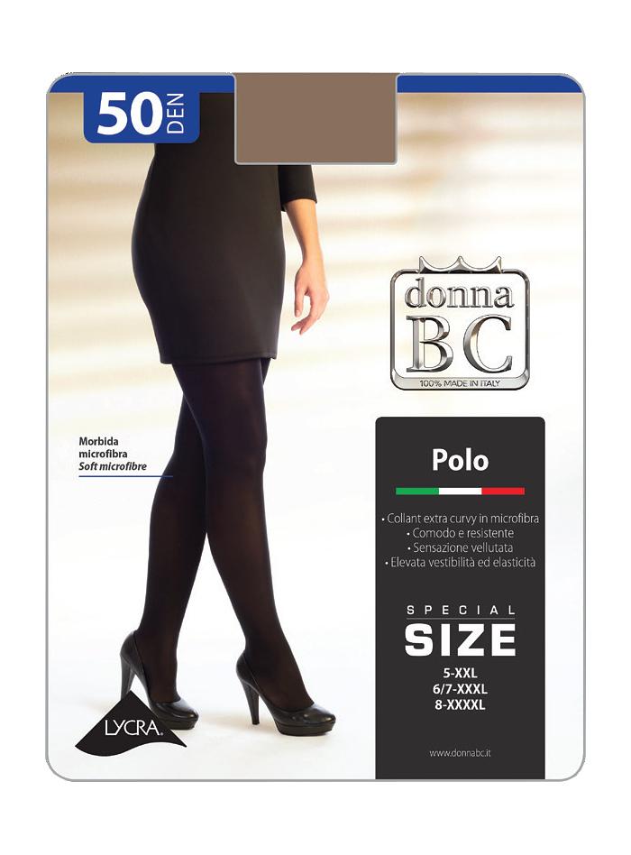 Dámské punčochové kalhoty Donna B.C. Polo 5-XXL 50 den