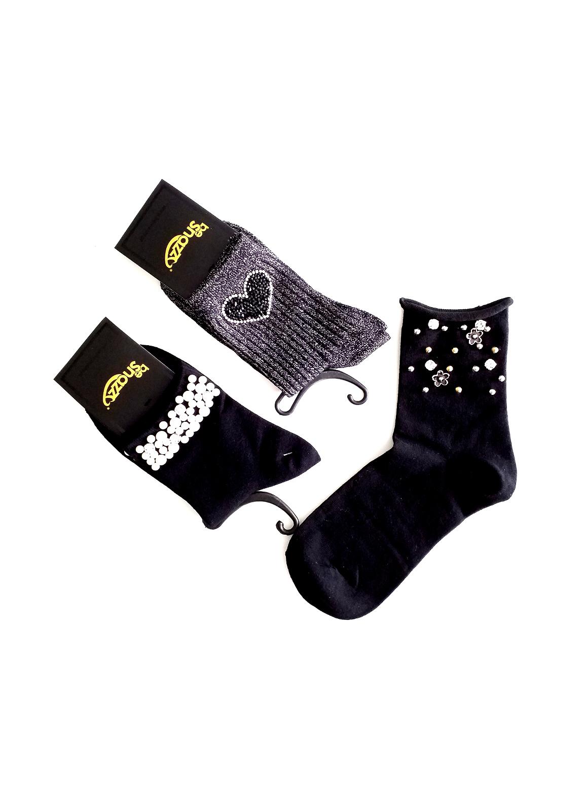 Dámské ponožky s ozdobami Be Snazzy SK-35