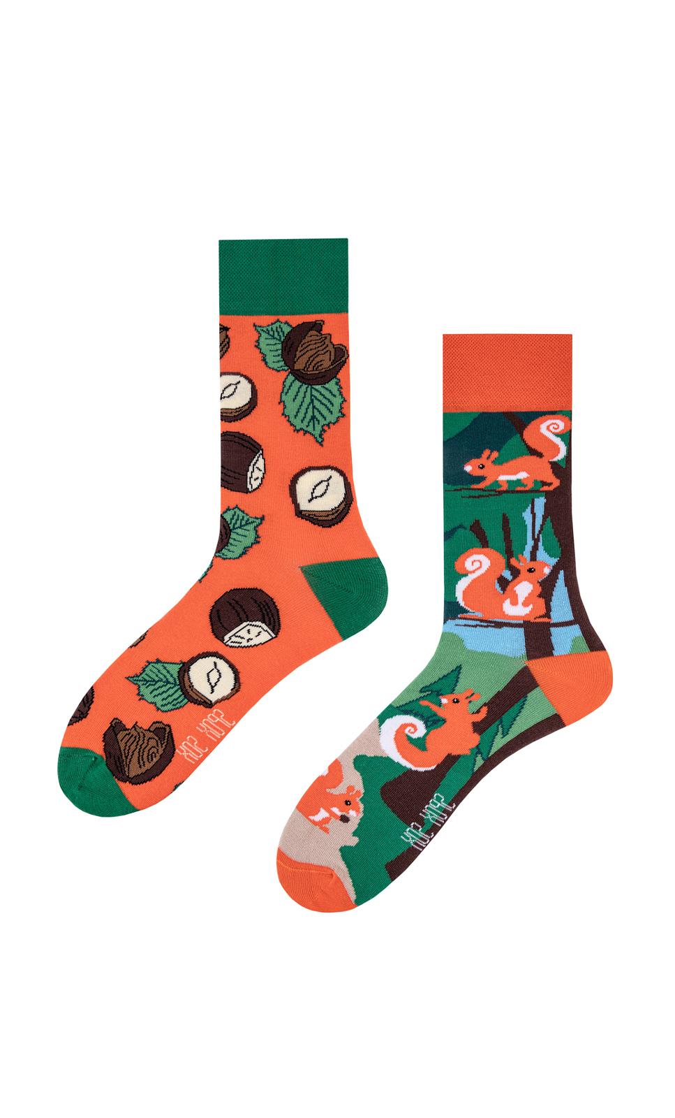 Unisex ponožky Spox Sox Veverky