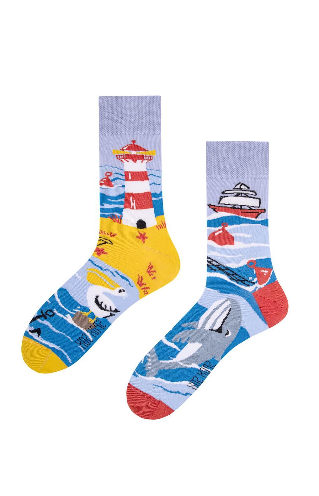 Nepárové ponožky Spox Sox Moře 36-46