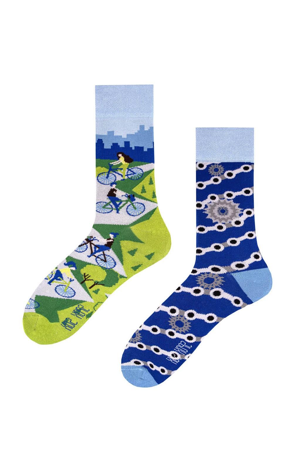 Nepárové ponožky Spox Sox Kolo 36-46