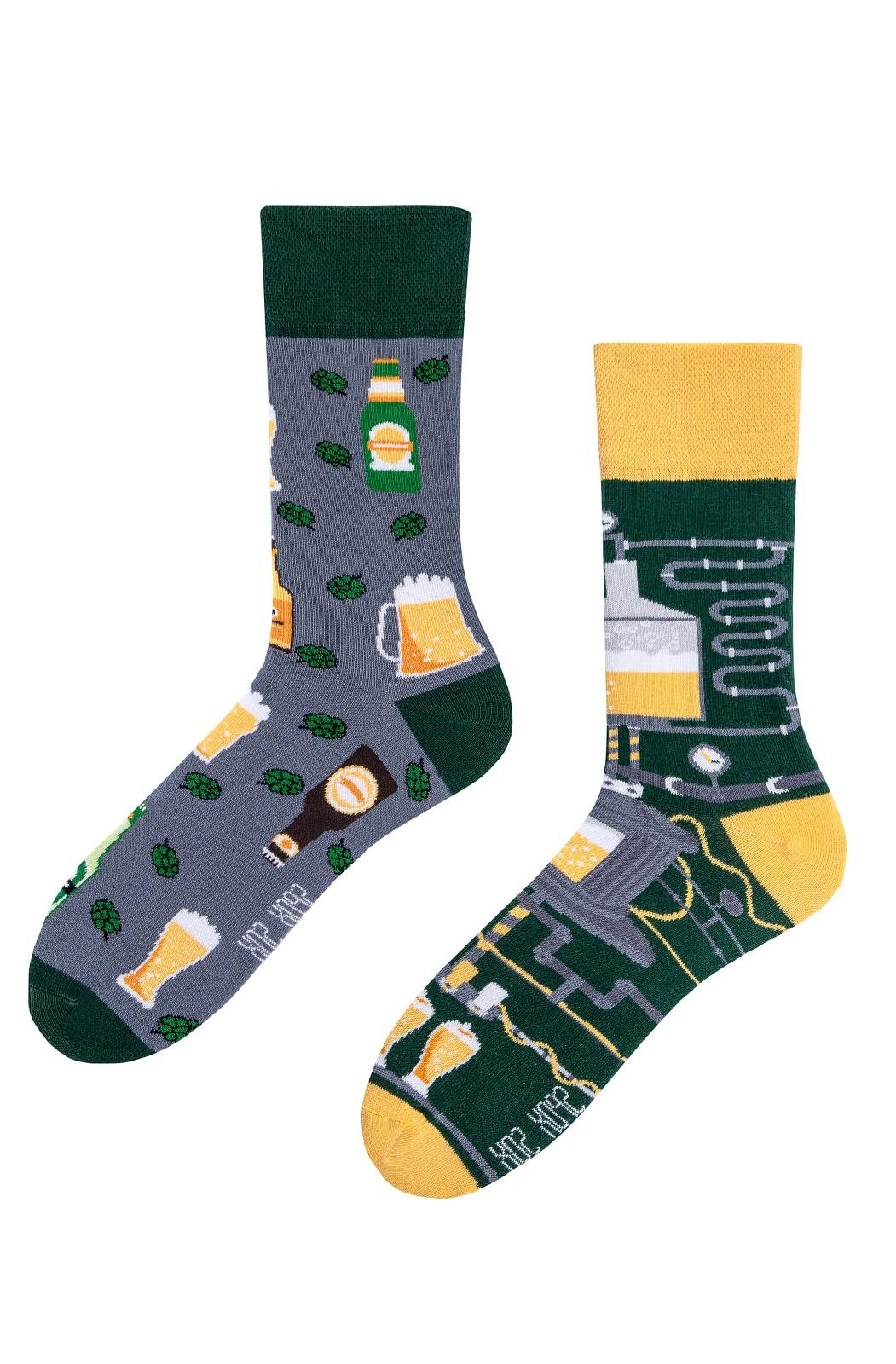 Nepárové ponožky Spox Sox Pivo 36-46