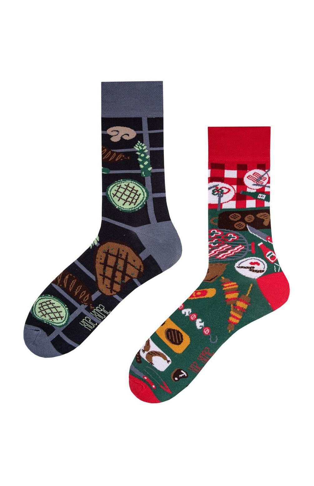 Nepárové ponožky Spox Sox Grill 36-46