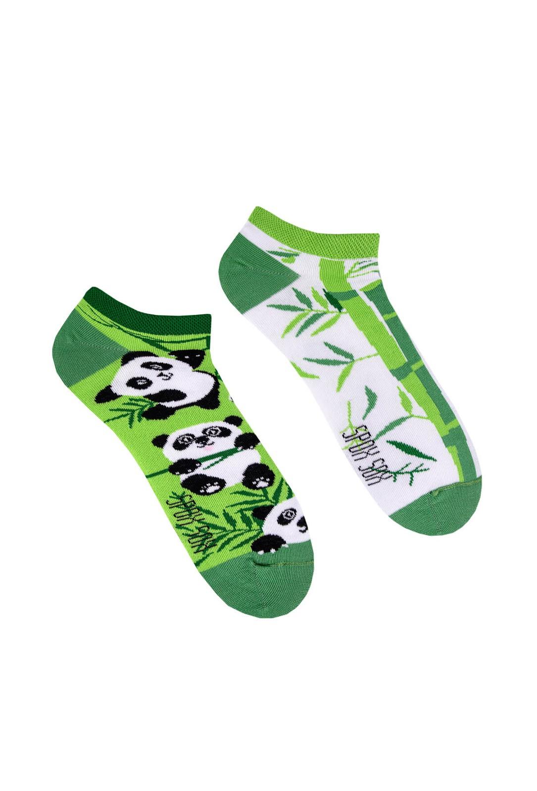 Nepárové nízké ponožky Spox Sox Pandy 36-46