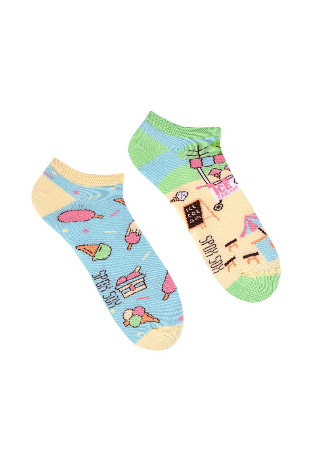 Nepárové nízké ponožky Spox Sox Lody 36-46