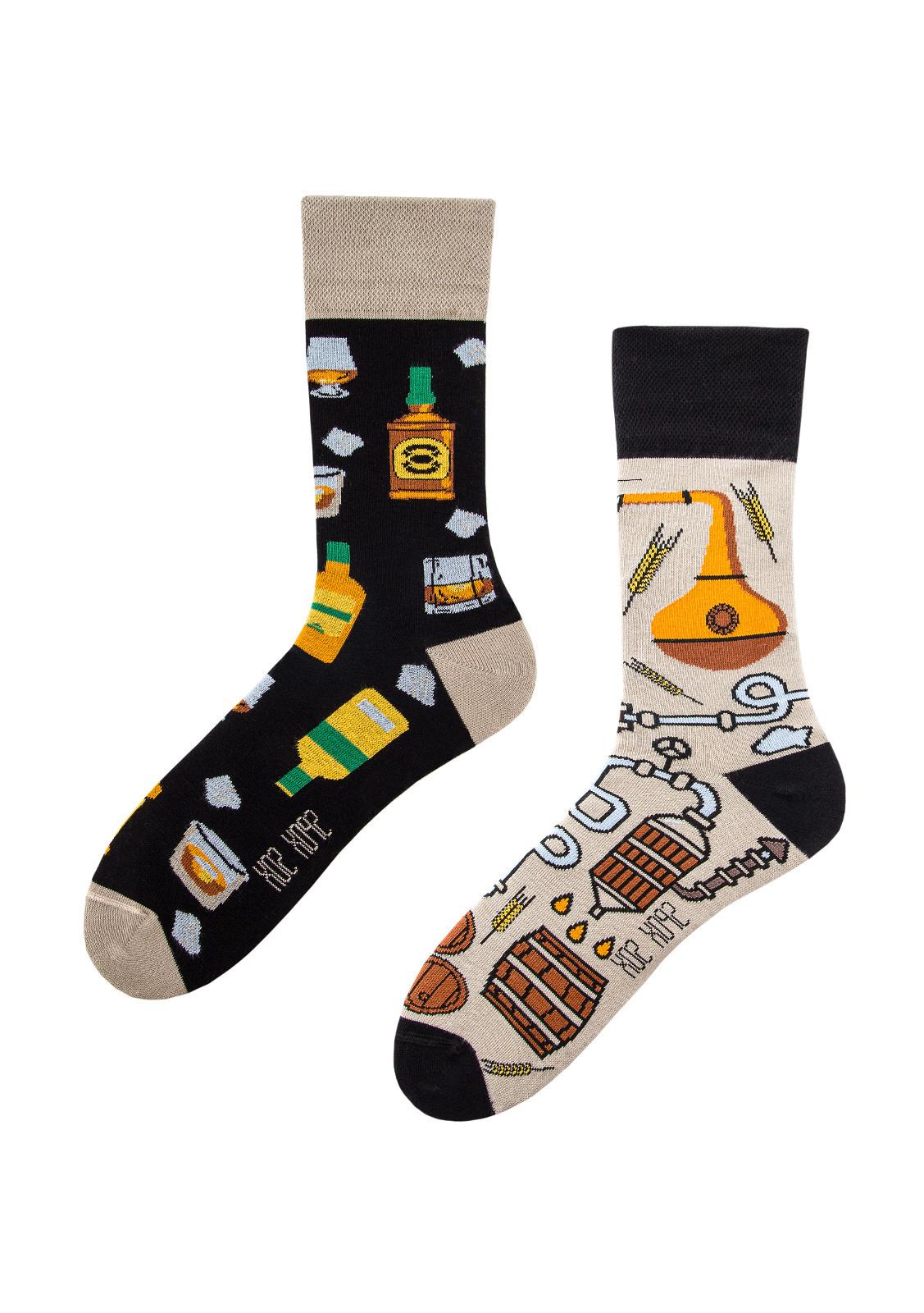 Nepárové ponožky Spox Sox Whisky