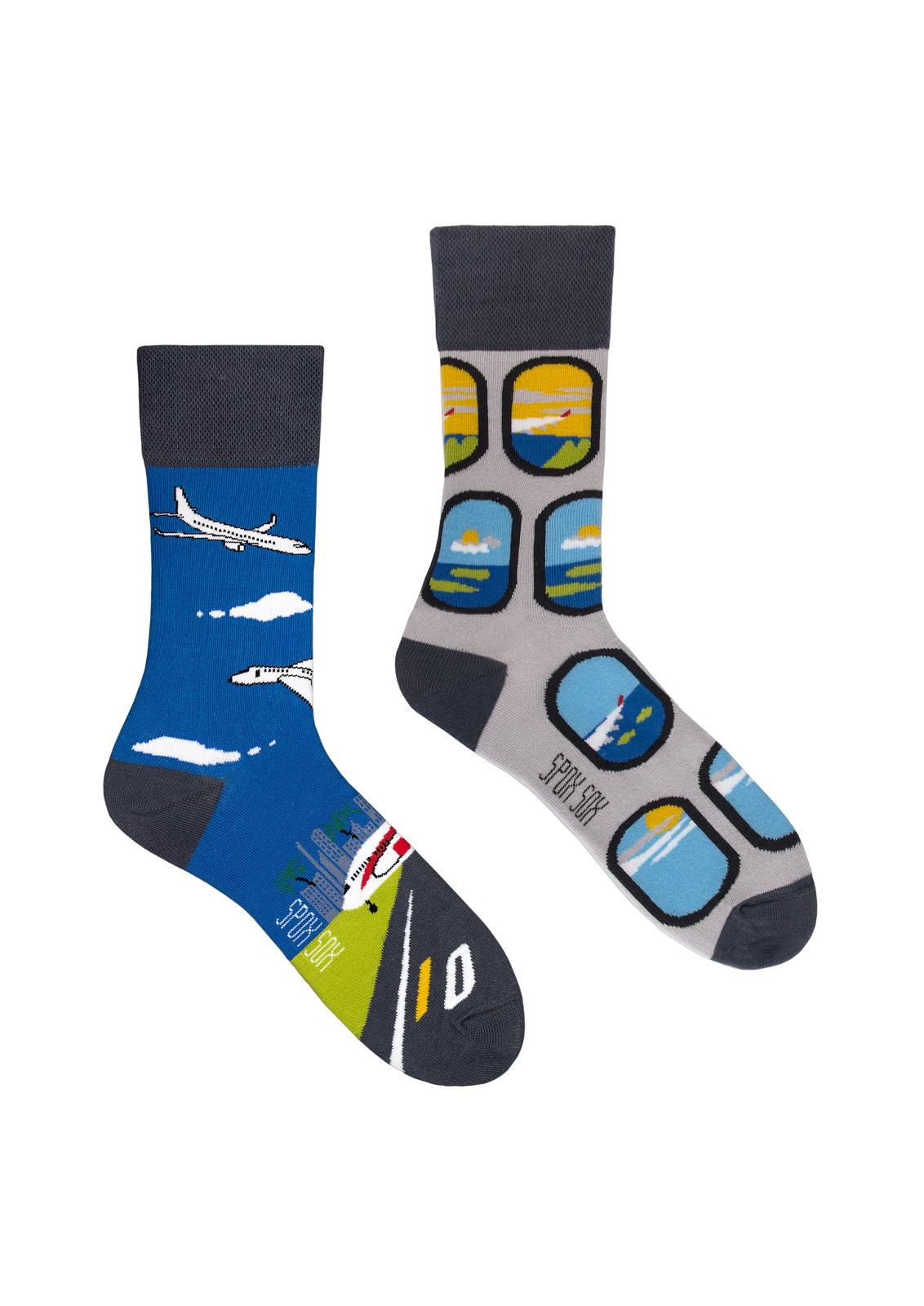 Ponožky Spox Sox - Letadla