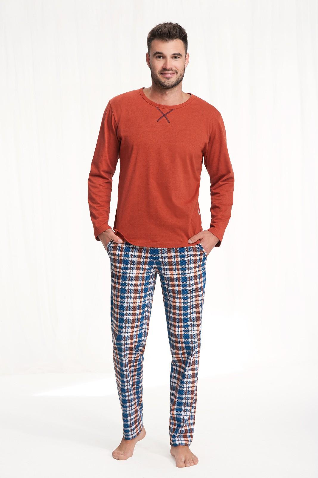 Pánské pyžamo Luna 700 dł/r 3XL