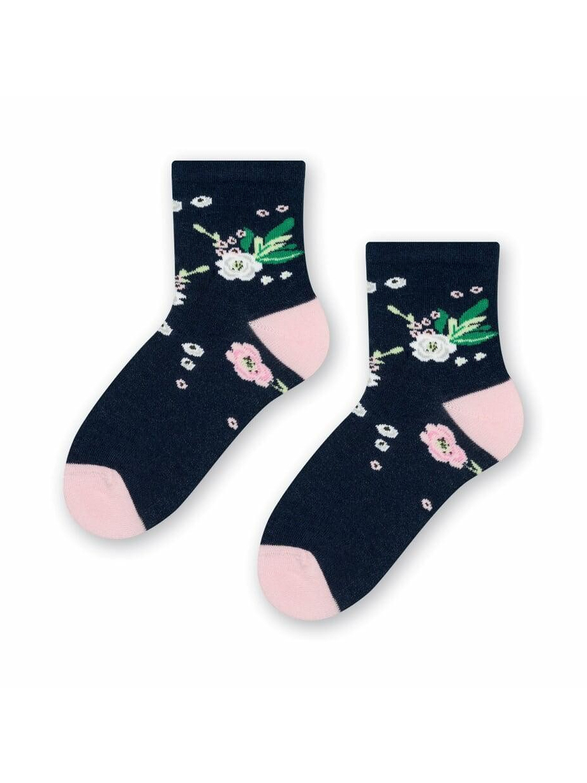 Dámské ponožky Steven Cotton Candy art.033