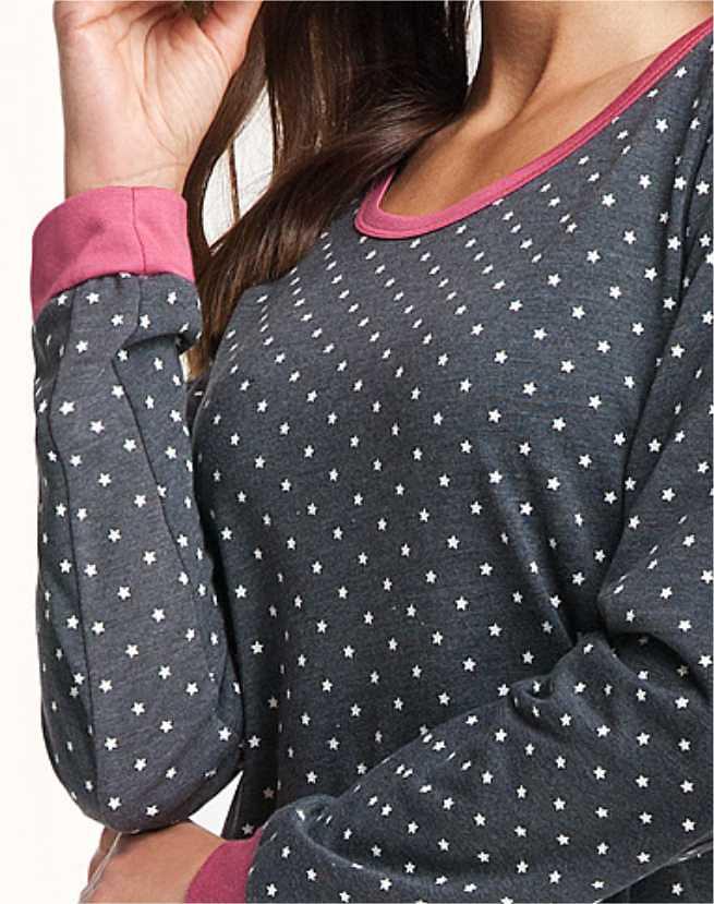 Dámská noční košile Luna 061 dł/r S-2XL