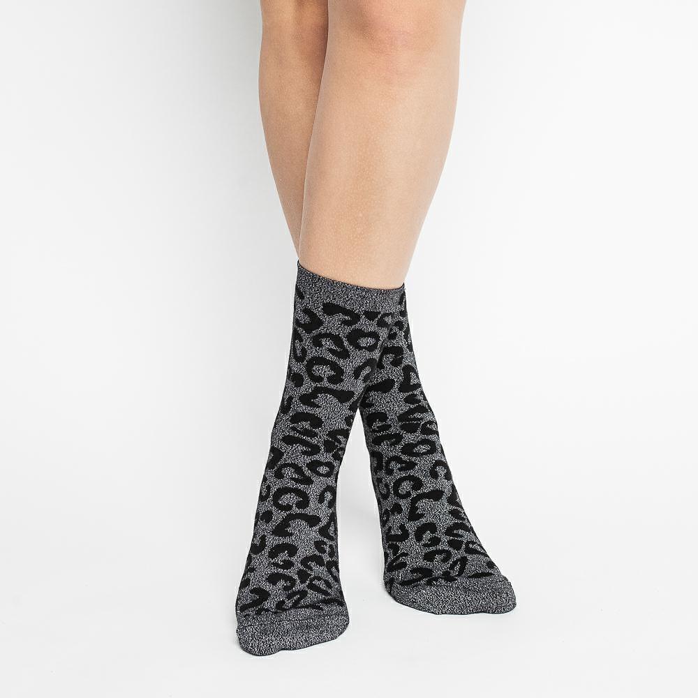 Dámské ponožky Steven art.066 Comet Lurex