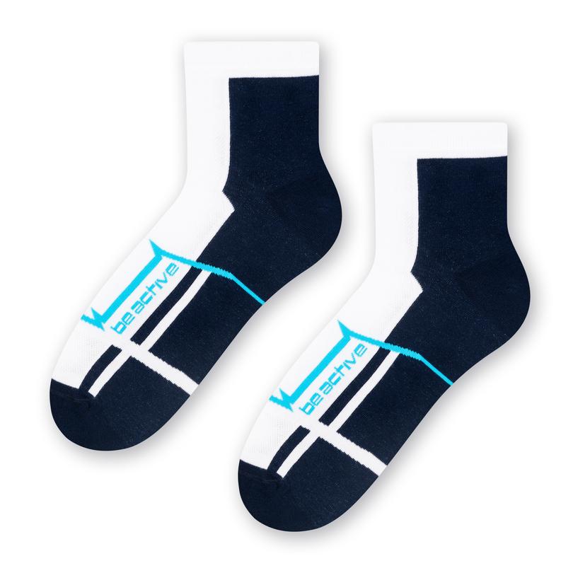 Pánské vzorované ponožky 054