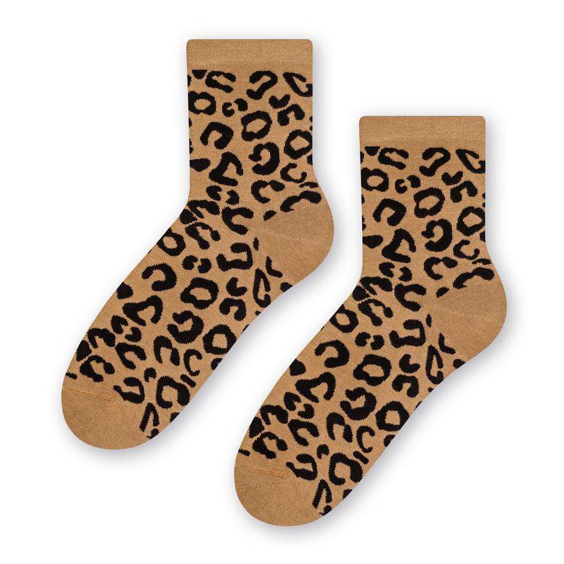 Dámské vzorované ponožky 099