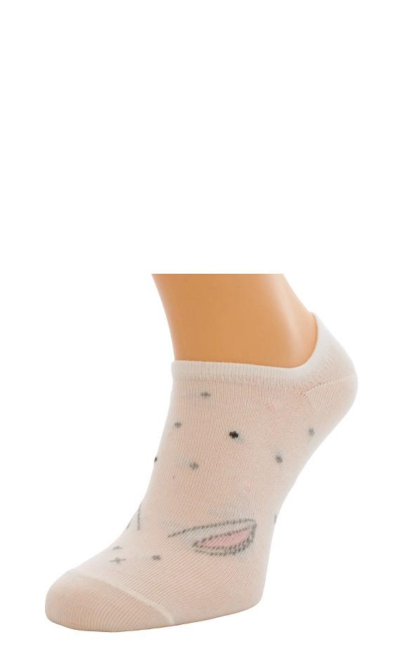 Dámské ponožky Bratex 9612 Bambus vzor 36-41