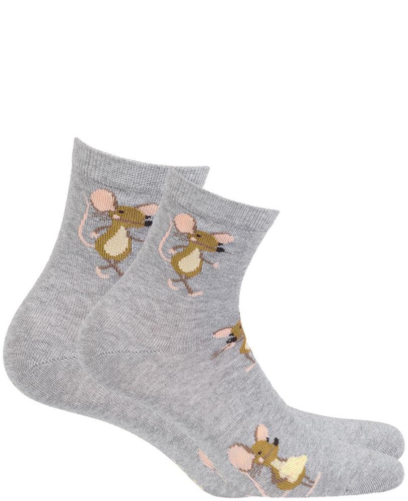 Dámské vzorované ponožky WOMAN