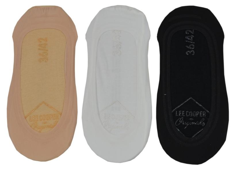 Dámské ponožky balerínky 3-P LEE COOPER 37499