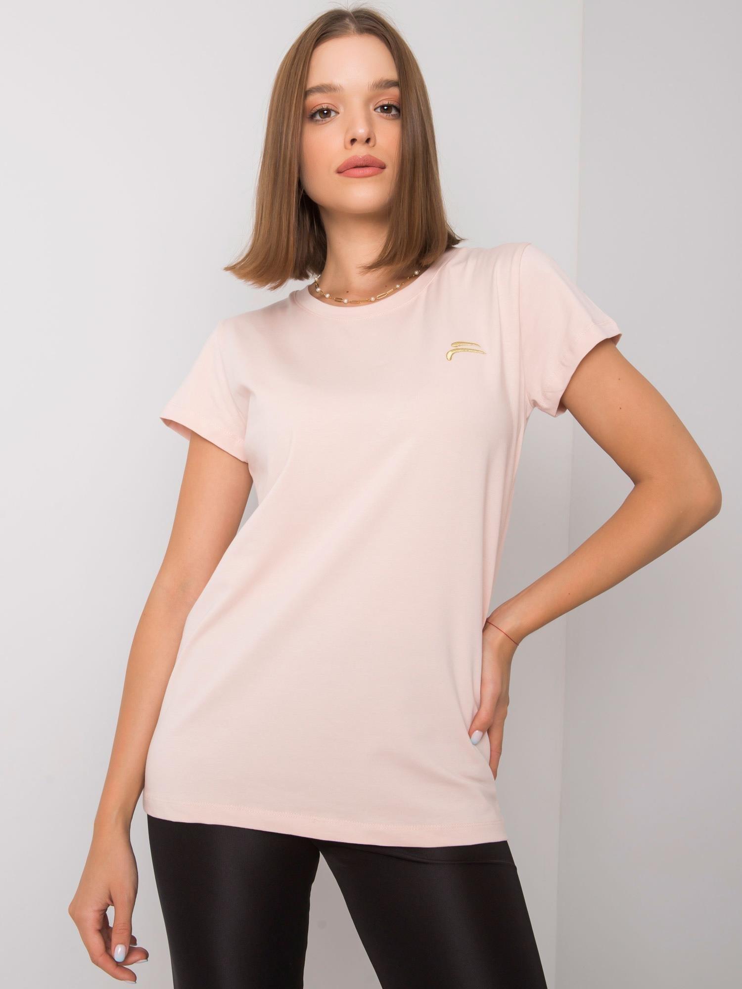 FOR FITNESS Světle růžové sportovní tričko